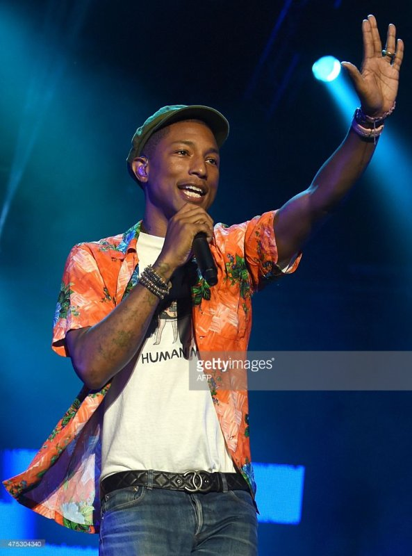 Pharrell & The Baes - Mawazine Festival - Rabat, Maroc - 30 mai 2015