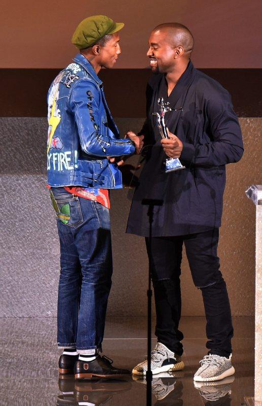 Pharrell - CFDA Awards - New York - 1 juin 2015