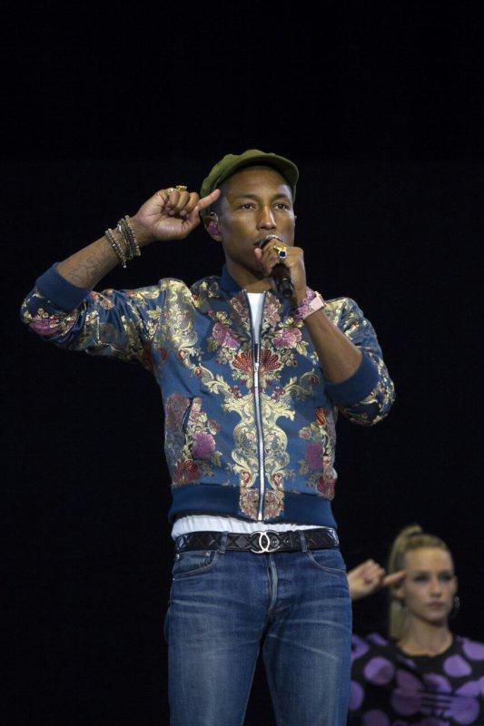 Pharrell & The Baes - Dear G  I  R  L Tour 2.0 - Pinkpop Festival - Landgraaf - Pays-Bas - 14 juin 2015
