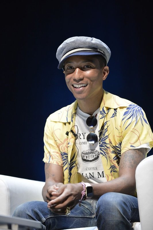 Pharrell - Cannes Lions Festival - 23 juin 2015