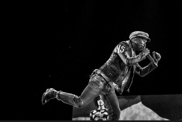 Pharrell & The Baes - Dear G  I  R  L Tour 2.0 - Rock Werchter Festival - Belgique - 26 juin 2015