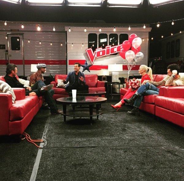 Pharrell - Tournage The Voice Saison 9 - Los Angeles - 30 juin 2015