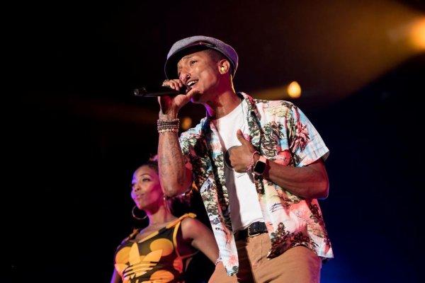 Pharrell & The Baes - Dear G  I  R  L Tour 2.0 - Stavernfestivalen - Norvège - 3 juillet 2015