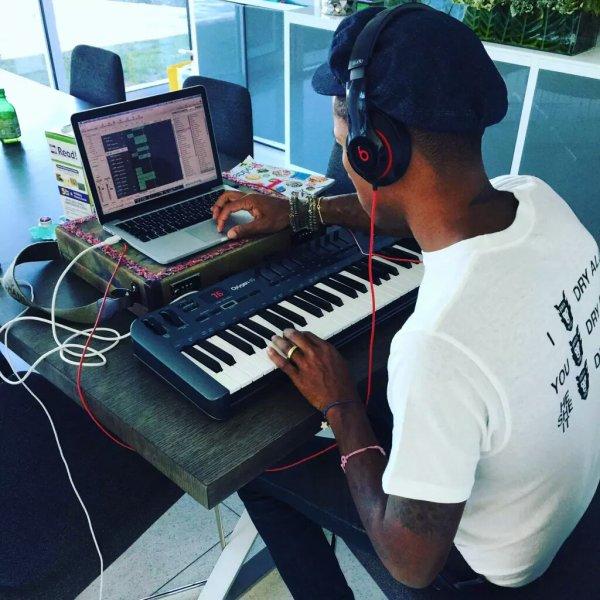 Pharrell - 30 août 2015