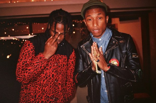 Travis Scott - Flying High (Ft. Toro y Moi) (Prod. Pharrell)