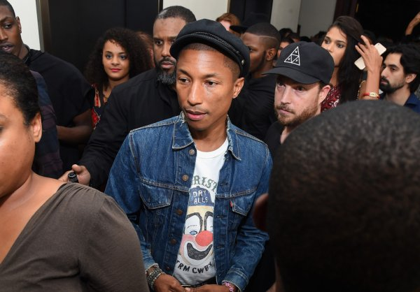 Pharrell - NYC - 10 septembre 2015