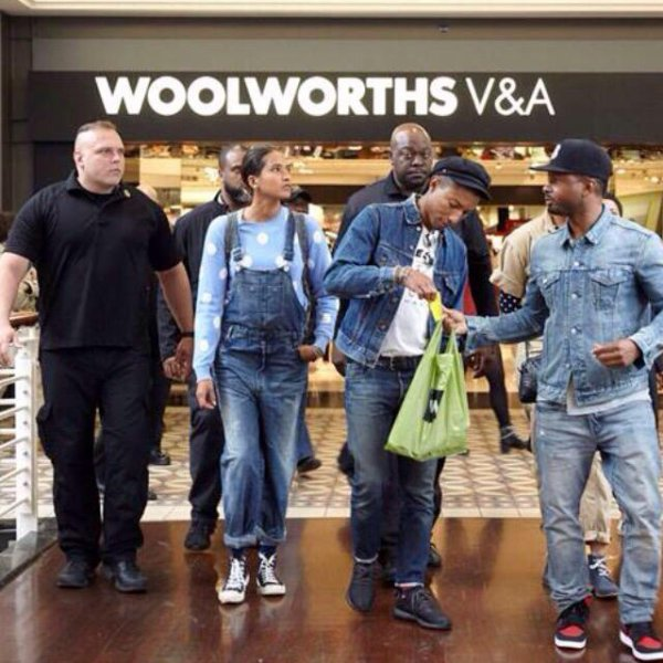 Pharrell & The Baes - Grand Arena, Grandwest - Cape Town, Afrique du Sud - 21 septembre 2015