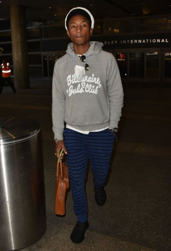 Pharrell - LAX Airport - 30 septembre 2015