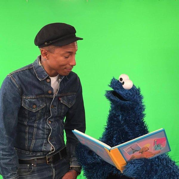Pharrell - New York City - 7 octobre 2015