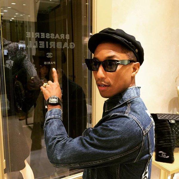 Pharrell - Milan - 23 et 24 octobre 2015