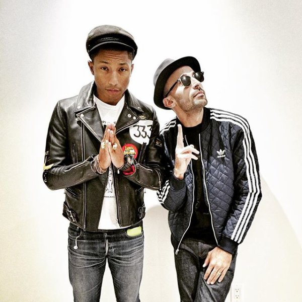 Pharrell & ... - Los Angeles - 29 octobre 2015