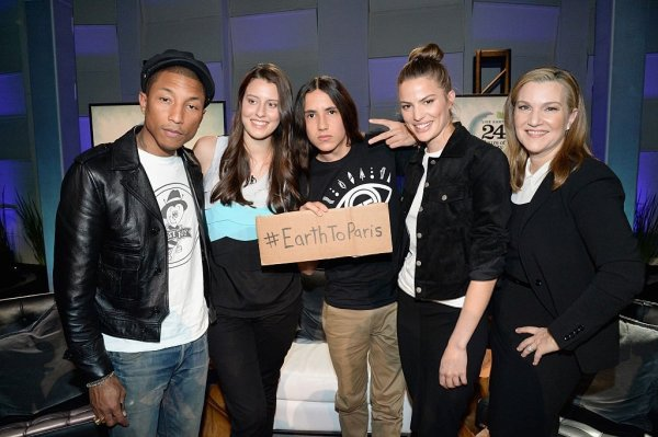 Pharrell - The World Is Watching: New Faces of Change - Los Angeles - 13 novembre 2015