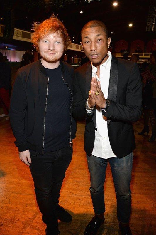 Pharrell - Shining A Light - Los Angeles - 18 novembre 2015