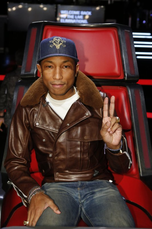 Pharrell - The Voice Saison 9 Live - Los Angeles - 1er décembre 2015