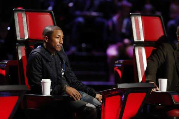 Pharrell - The Voice Saison 9 Live - Los Angeles - 14 décembre 2015
