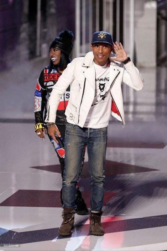 Pharrell - The Voice Saison 9 Live - Los Angeles - 15 décembre 2015