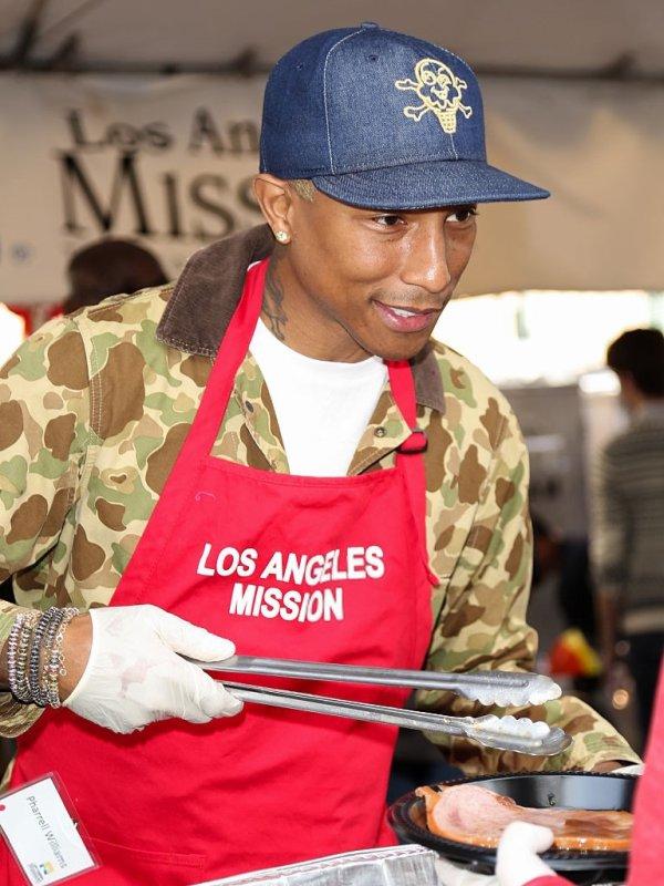 Pharrell - Los Angeles - 24 décembre 2015