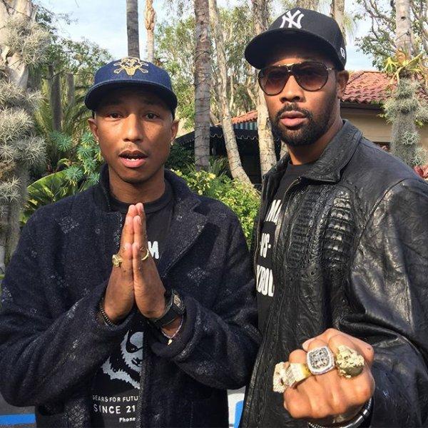 Pharrell & RZA - Janvier 2016