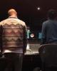 Pharrell en studio avec ... - Los Angeles - 26 janvier 2016