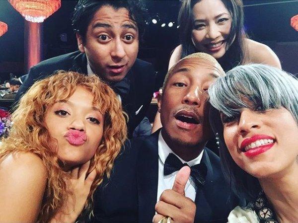 Pharrell - American Black Film Festival Awards - Beverly Hills - 21 février 2016