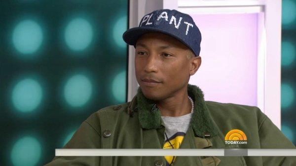 Pharrell - The TODAY Show - NYC - 3 mars 2016