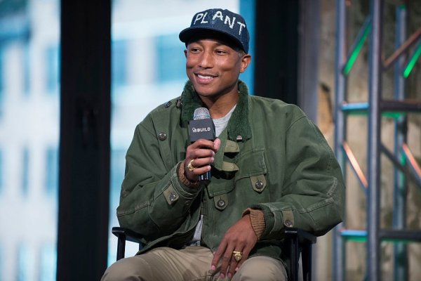 Pharrell - AOL Build - NYC - 3 mars 2016