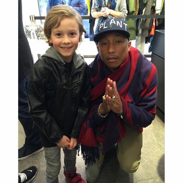 Pharrell - Paris - 7 mars 2016