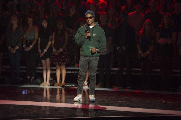 Pharrell - 2016 Radio Disney Music Awards - Los Angeles - 30 avril 2016