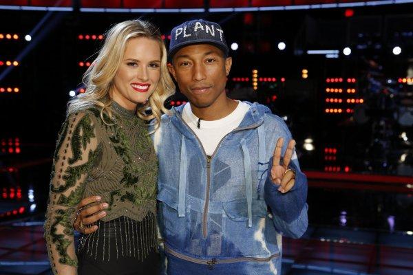 Pharrell - The Voice Saison 10 Live - 10 mai 2016