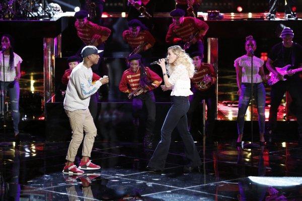 Pharrell - The Voice Saison 10 Live - 23 mai 2016