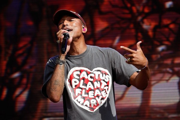 Pharrell - British SummerTime Hyde Park - Londres - 10 juillet 2016
