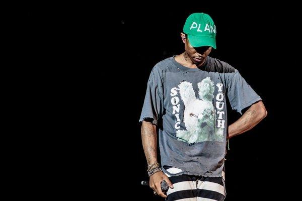 Pharrell - Street Music Art Festival - Assago, Milan - 12 juillet 2016