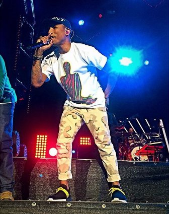Pharrell - Moon and Stars Festival - Locarno, Suisse - 13 juillet 2016