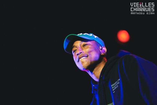 Pharrell - Festival des Vieilles Charrues - Carhaix, France - 15 juillet 2016
