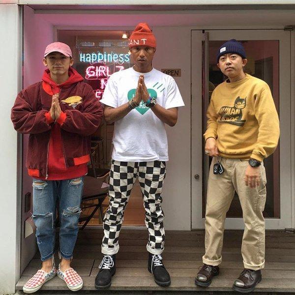 Pharrell - Tokyo, Japon - 29 octobre 2016