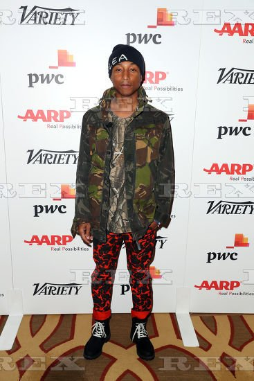 "Pharrell - Variety ""Inclusion"" Keynote - Los Angeles - 1er novembre 2016"