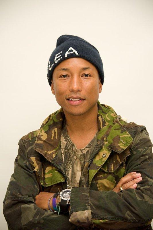 Pharrell - Conférence de presse pour Hidden Figures - Beverly Hills - 1er novembre 2016