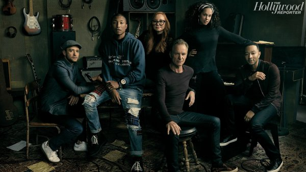 The Hollywood Reporter Songwriter Roundtable Discussion