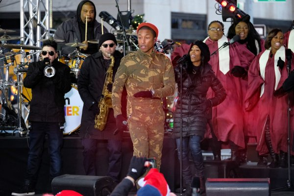 Pharrell - Concert TODAY Show - NYC - 9 décembre 2016