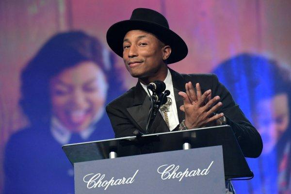 Pharrell - 28th Annual Palm Springs Festival - 2 janvier 2017