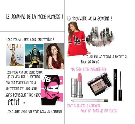 Le journal de la mode num ro 1 blog de girl and chic - Le journal de la mode ...