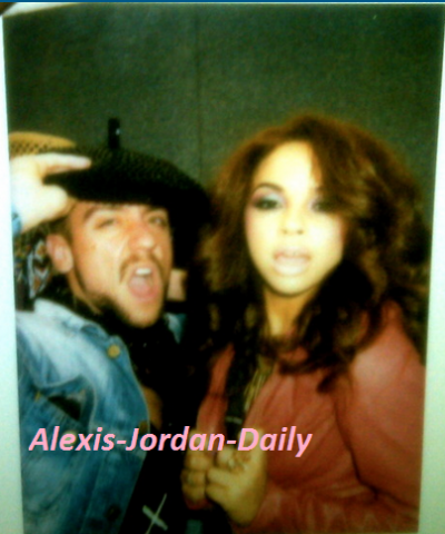 Alexis Jordan: Hair and Make up (with make-up artist)
