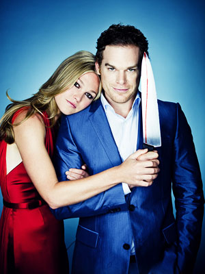 Michael C. Hall and Julia Stiles