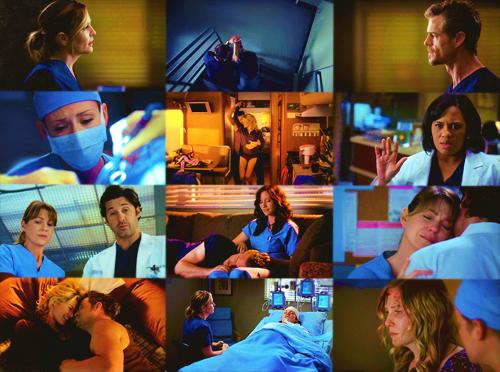 A powerful episode  pics: FY! Grey's Mcnatomy tumblr