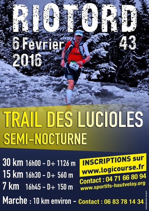 TRAIL DES LUCIOLES / SORTIE DE DIMANCHE