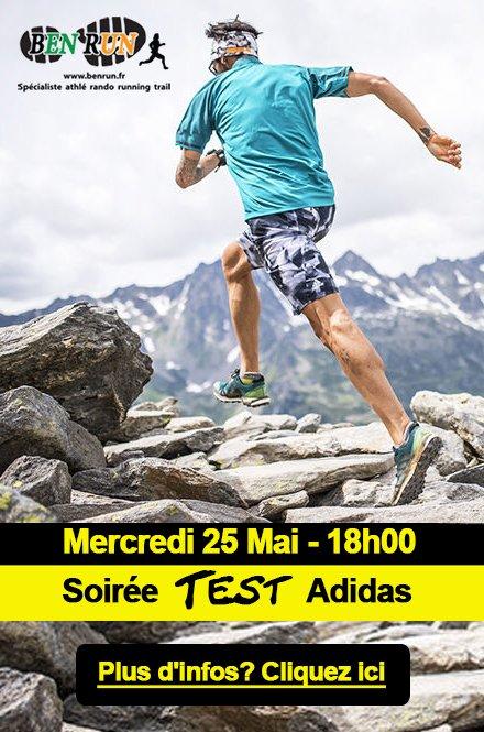 Soir�e test Adidas