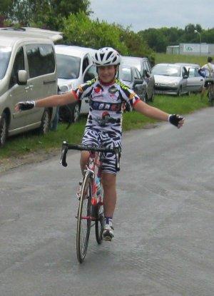 JEREMIE FAULCON Champion de l'Essonne Minime