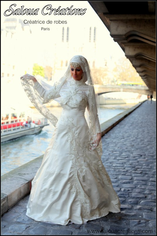 Location robe de mariee hijab paris