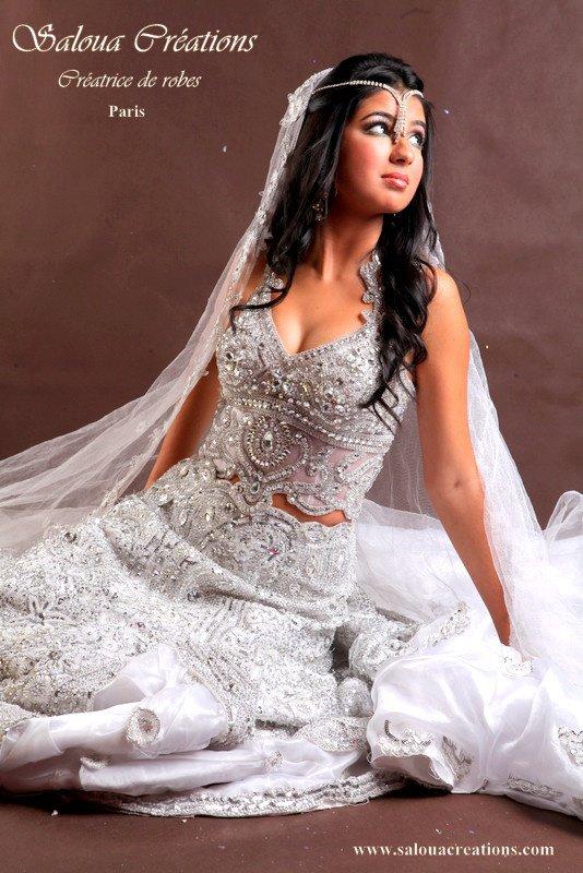 Location robe de soiree tunisienne paris  Élégant Robe de Mariée