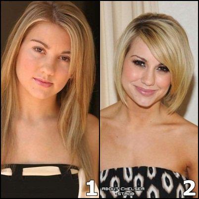 Quelle coupe de cheveux de chelsea pr f res tu ta for Chelsea kane coupe de cheveux
